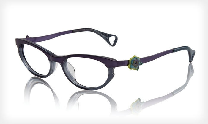 Darling Dots Frames: $39 for Darling Dots Optical Frames by Betsey Johnson ($225 List Price). Two Colors Available.