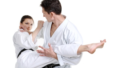 One or Two Months of Beginner or Advanced Brazilian Jiu Jitsu Classes at Axtion Club (Up to 69% Off)