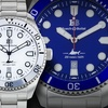 Buech and Boilat Thresher Men's Swiss Diver Watches