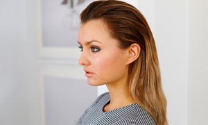 P.B. Hair Lounge: Hairstyling Packages at P.B. Hair Lounge (Up to 64% Off). Four Options Available.