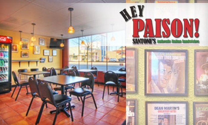 Hey Paison! - Burien: $8 for $16 Worth of Hoagies, Cheesesteaks, and Italian Fare at Hey Paison! in Burien