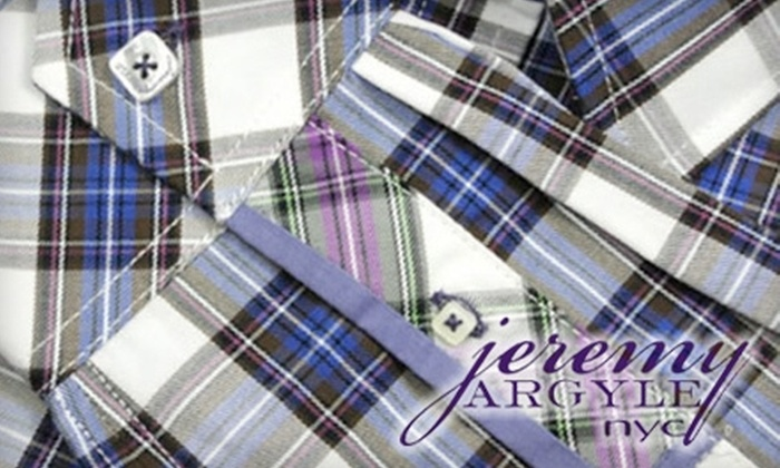 Jeremy Argyle - SoHo: $60 for $120 Toward Men's Shirts at Jeremy Argyle