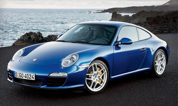 Steam Sport Technologies - Financial District: $59 for Half-Day Porsche Rental from Steam Sport Technologies ($149.50 Value)