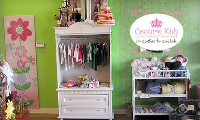 Couture Kids Consignment Boutique - Littleton: $20 for $40 Worth of Clothing, Gifts, and More at Couture Kids Consignment Boutique in Littleton