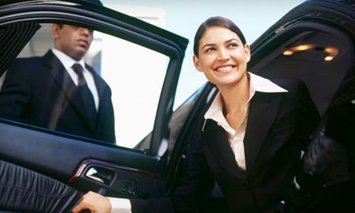 Mylimostyle - Cranston: Roundtrip Service to TF Green Airport, One-Way Service to Logan Airport, or a Two-Hour Limo Rental from Mylimostyle (Up to 60% Off)