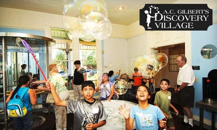 A.C. Gilbert's Discovery Village - Central Area: $6 for Two Tickets to A.C. Gilbert's Discovery Village ($12 Value)