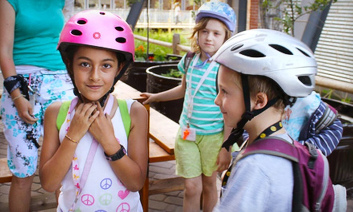Evergreen Brick Works - Rosedale: If 50 People Donate $10, Then Evergreen Bike Works' Green City Cycles Can Pay for Four Kids to Attend a Bike-Safety Workshop