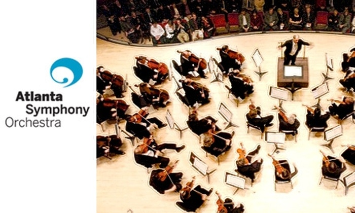 Atlanta Symphony Hall - Midtown: $29 Ticket to Your Choice from Two Shows at the Atlanta Symphony Orchestra (Up to $60 Value)