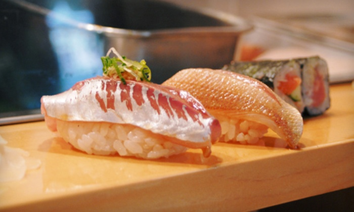 Hecho - Downtown: $25 for $50 Worth of Sushi and Tequila at Hecho