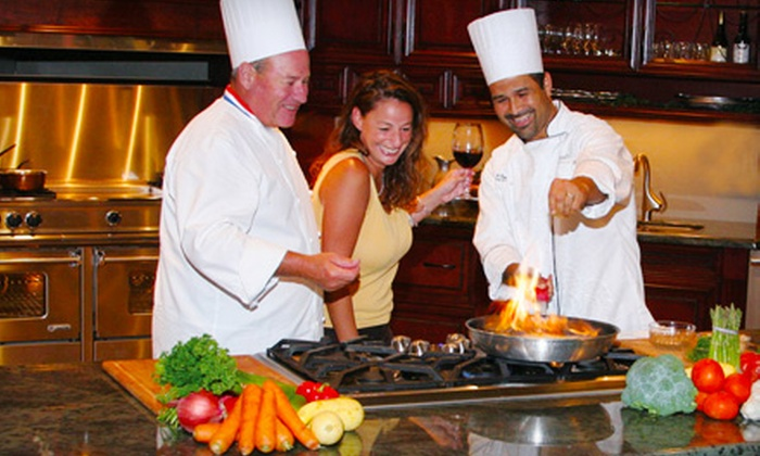Hugh's Culinary - Oakland Park: Cooking Experience and Open Bar for One or Two at Hugh's Catering in Oakland Park