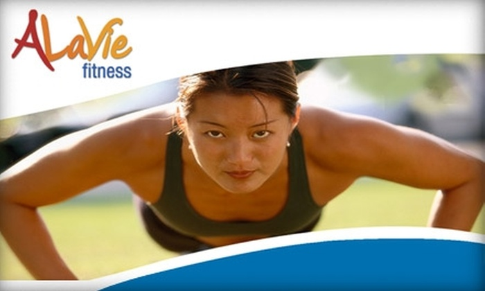 AlaVie Fitness Boot Camp - San Jose: $60 for a One-Month Boot Camp With AlaVie Fitness ($180 Value)