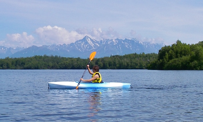 Alaska Kayak Academy - Matanuska-Susitna: Two-Hour Beginners' Kayaking Class for One or Two from Alaska Kayak Academy (Up to 61% Off)
