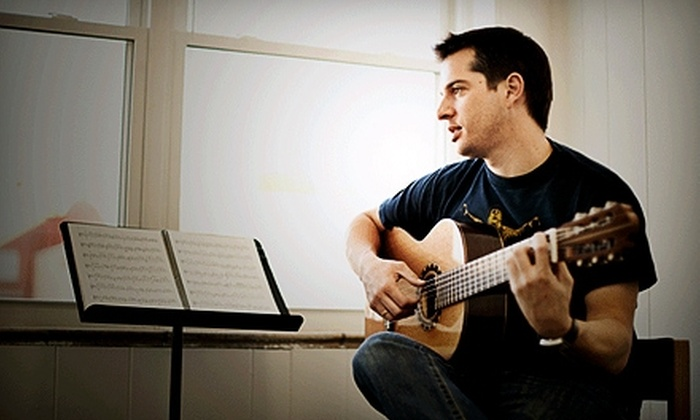 Brookside Guitars - Kansas City: $20 for Two Private Guitar Lessons ($50 Value) or $40 for Four Private Guitar Lessons ($100 Value) at Brookside Guitars