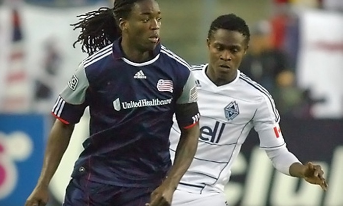 New England Revolution - Foxborough: $20 for One Upper-Level Ticket to the New England Revolution vs. Manchester United Soccer Game in Foxborough ($40 Value)
