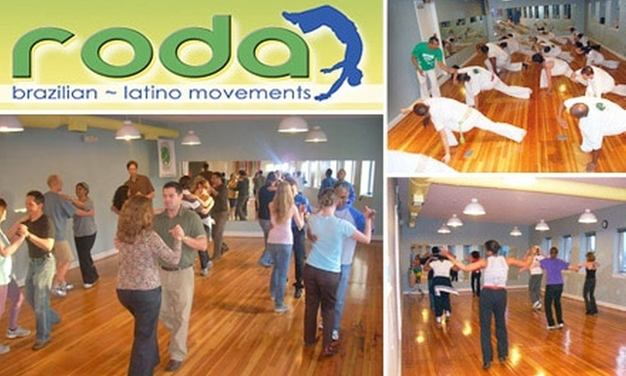 Roda Movements - Takoma - DC: $34 for 4 Drop-In Classes at Roda Movements (Up to $68 Value)