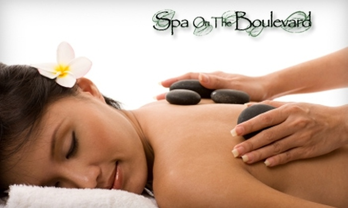 Spa on the Boulevard - North Central: $39 for an Express Organic Facial and Foot Reflexology ($80 Value) or $39 for a Hot Stone Massage at Spa on the Boulevard in Virginia Beach.