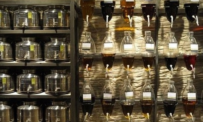 Oil & Vinegar - Town Center: $12 for $25 Worth of Oils, Vinegars, and Gourmet Gift Items at Oil & Vinegar in The Woodlands