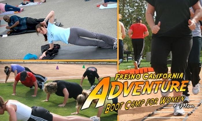 Fresno Adventure Boot Camp  - Multiple Locations: $49 for Six Boot-Camp Classes from Fresno Adventure Boot Camp ($120 Value)