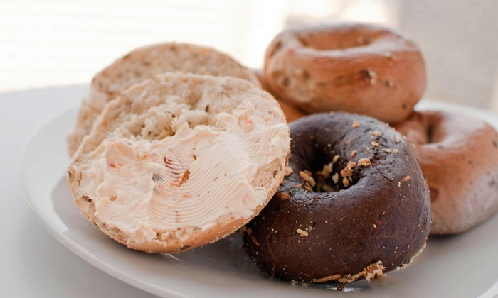 Big Apple Bagels - Multiple Locations: $10 for Two Groupons, Each Good for $10 Worth of Bagels, Sandwiches, Muffins, and Drinks at Big Apple Bagels ($20 Value)