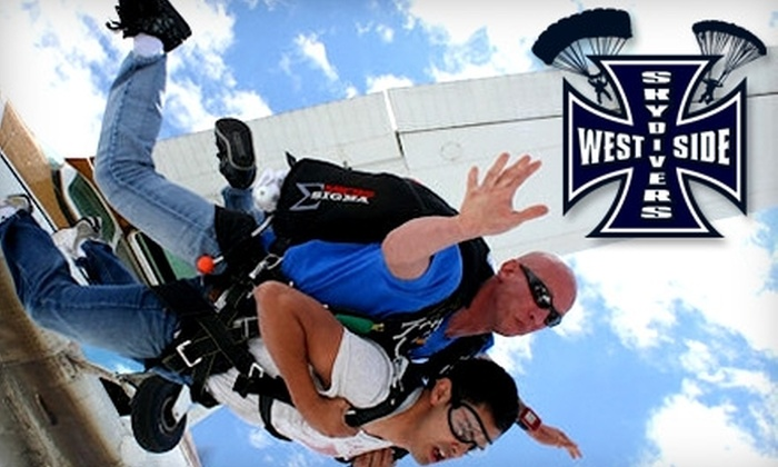Westside Skydivers - Winsted: $117 for a Tandem Skydive Jump from Westside Skydivers in Winsted (Up to $210 Value)