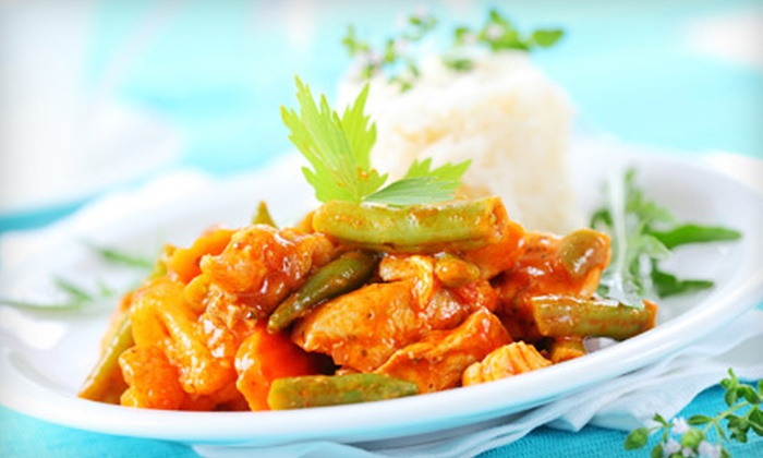 Curriez Indian Cuisine - Pinellas Park: $25 for Four-Course Indian Dinner for Two at Curriez Indian Cuisine in Pinellas Park (Up to $51.80 Value)