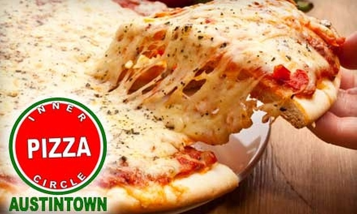 Inner Circle Pizza - Mahoning Heights: $7 for $15 Worth of Pizza, Wings, and More at Inner Circle Pizza