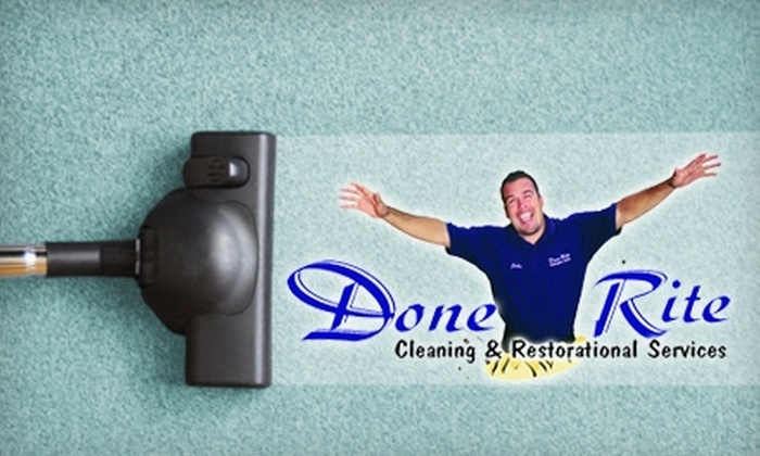 Done Rite Carpet Care - Ventura County: $70 for Tile and Grout Cleaning ($200 Value) or $50 for Dry Carpet Cleaning ($130 Value) From Done Rite Carpet Care
