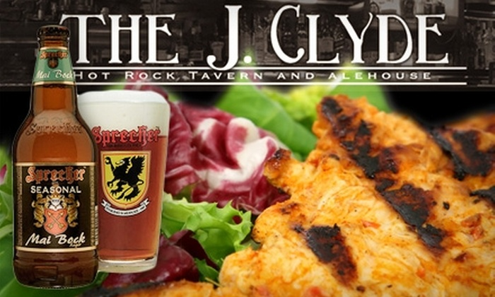 The J. Clyde - Five Points South: $10 for $20 Worth of Pub Grub and More at The J. Clyde
