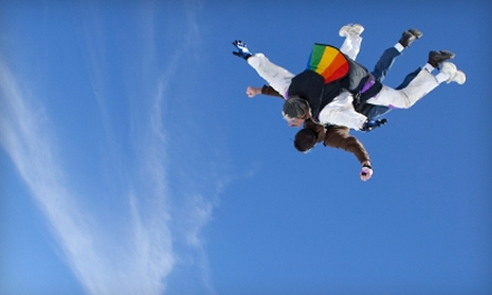 Skydive Warren County - Lebanon: $94 for a Static-Line Skydive from Skydive Warren County in Lebanon ($189 Value)