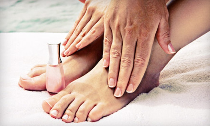 Jennifer at Style 101 Salon - Vandever East: Basic Pedicure with Basic or Shellac Manicure from Jennifer at Style 101 Salon in Broken Arrow (Up to 55% Off)