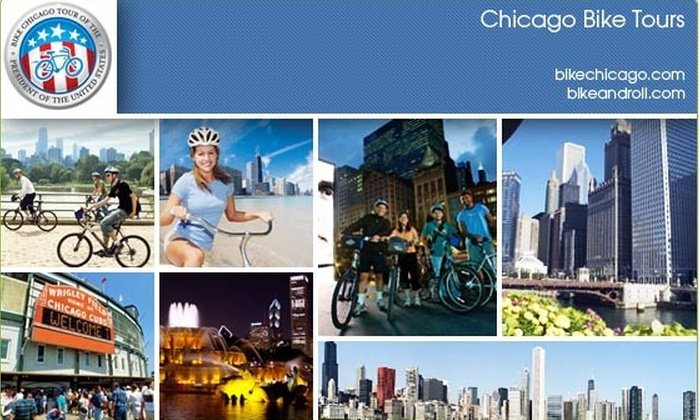 Bike and Roll Chicago - Multiple Locations: $17 for Bike Tour of the City ($35 Value)