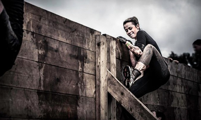 """Invincible """"The Challenge"""" - San Bernardino: Invincible """"The Challenge"""" 5K Obstacle Run for One or Two (Up to 61% Off)"""