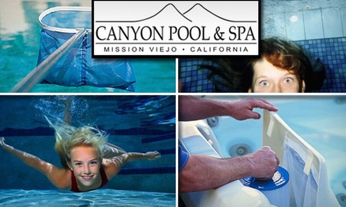 Canyon Pool and Spa - Orange County: $49 for One Month of Pool Cleaning at Canyon Pool and Spa