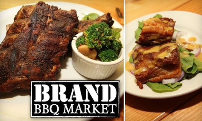 Brand BBQ Market - Logan Square: $7 for $15 Worth of Savory Barbecue Cuisine at Brand BBQ Market