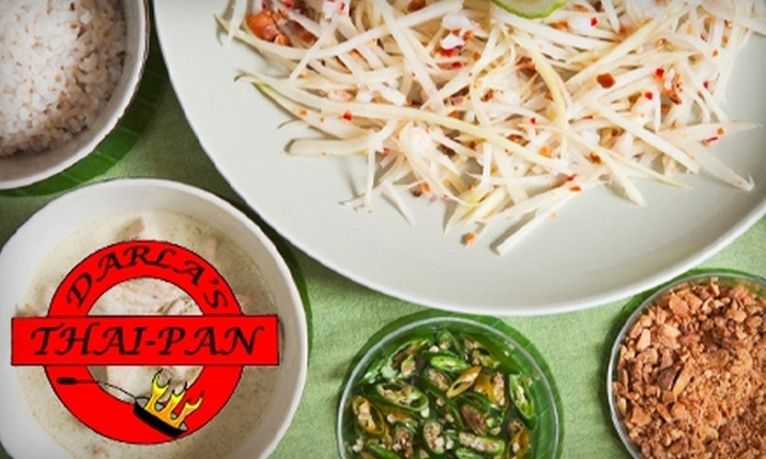 Darla's Thai-Pan - Franklin Park: $10 for $20 Worth of Authentic Thai Cuisine at Darla's Thai-Pan