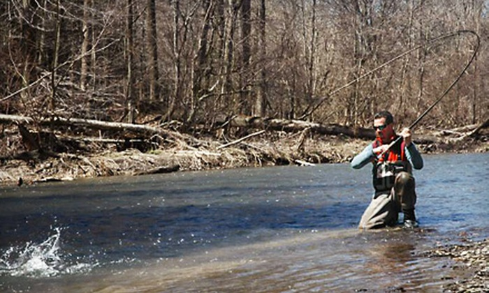 Ohio Steelhead Drifters - Westlake: $20 for a Fly-Fishing Lesson for Two from Ohio Steelhead Drifters in Westlake ($40 Value)