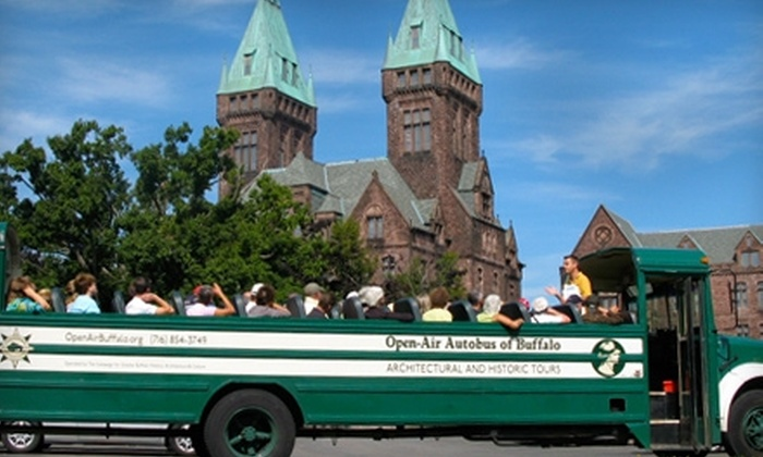 Open-Air Autobus of Buffalo - Forest: $20 for Two Tickets to a Historic Architecture Tour of Your Choice from Open-Air Autobus of Buffalo ($40 Value)