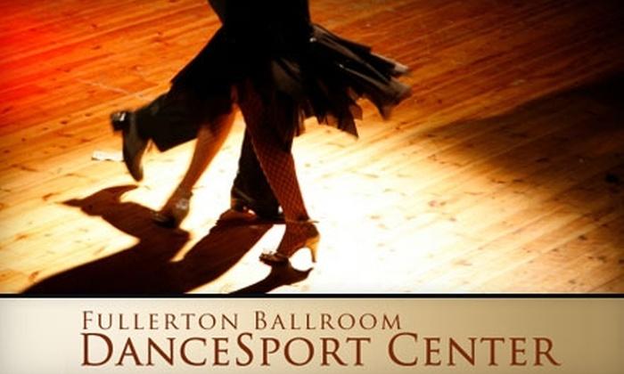 Fullerton Dancesport Center - Downtown Fullerton: $45 for 10 Group Dance Classes at Fullerton Dancesport Center ($90 Value)