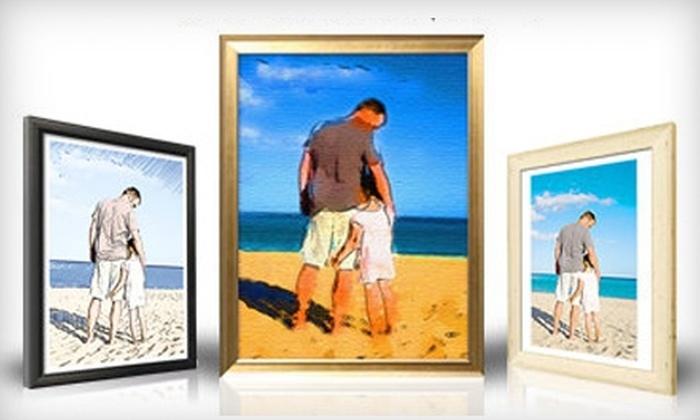 Photofiddle.com: $75 for One Custom-Framed Art Print from Photofiddle.com ($174 Value)