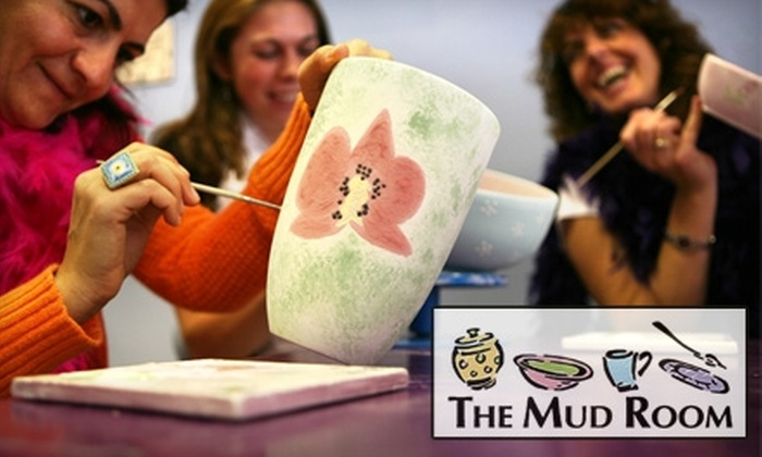 The Mud Room Inc. - Ada: $10 for $20 Worth of Pottery Painting and Glass Fusing at The Mud Room in Ada