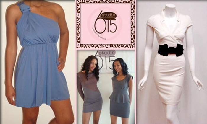 Studio 615 - West End: $20 for $50 Worth of Trendy Apparel at Studio 615