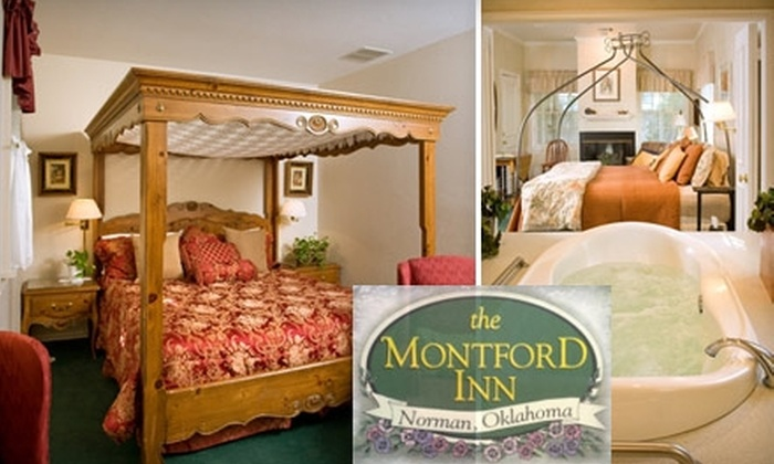 Montford Inn and Cottages - Norman: $99 for a One-Night Romantic Stay and In-Room Breakfast at Montford Inn and Cottages