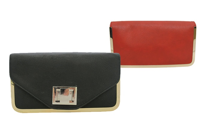 Vegan Clutch YK1025: Vegan Clutch Purse. Multiple Colors Available. Free Returns.