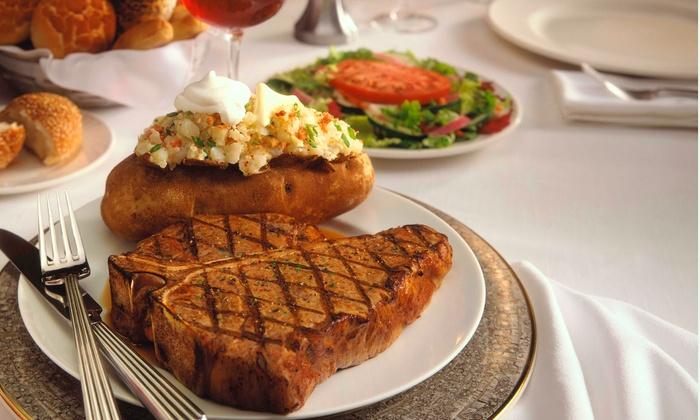 Gene's Steak House - Highridge Estates: $30 for $50 Worth of Upscale American Cuisine at Gene's Steak House