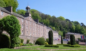 New Lanark World Heritage Site: New Lanark World Heritage Site Entry for Two or a Family of Three, Four or Five (Up to 52% Off)