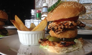 Santis: Legendary Burger from R99 for Two at Santis (Up to 51% Off)