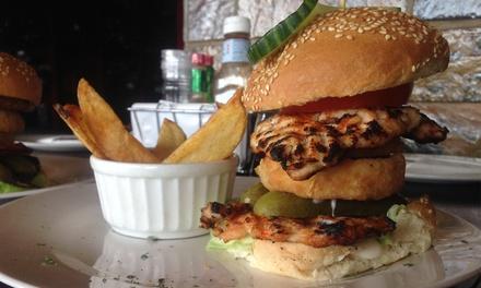 Legendary Burger for Two at Santis