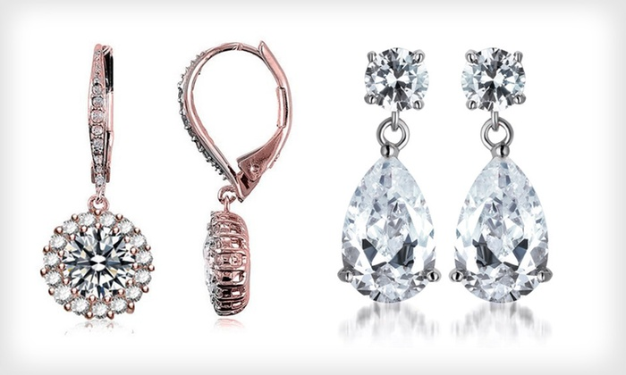 Cubic-Zirconia Holiday Jewelry Glitz: Cubic-Zirconia Holiday Jewelry Glitz (Up to 88% Off). 11 Options Available. Free Shipping.