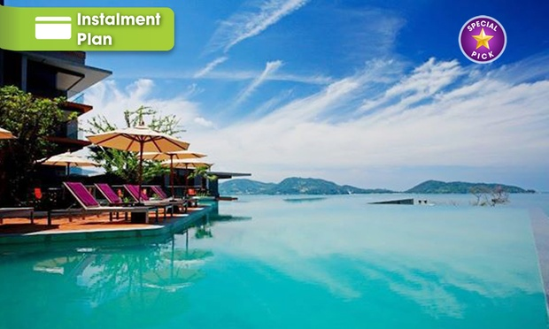 Phuket: 5* Seaview Stay in Patong 0