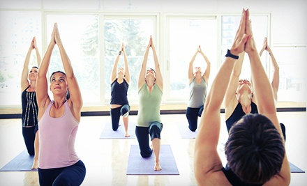 10 Yoga Classes or One Month of Unlimited Yoga Classes at Dancing Dogs Yoga (Up to 71% Off)